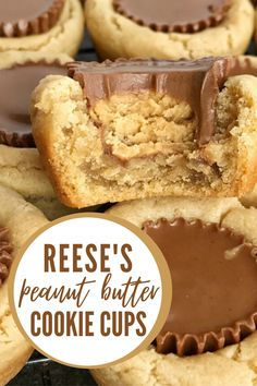 Peanut Butter Cup Cookies, Peanut Butter Desserts, Peanut Butter Crackers, Peanut Cake, Peanut Butter Candy, Fun Desserts, Delicious Desserts, Dessert Recipes, Holiday Baking