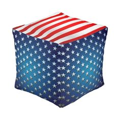 US Flag Cube Pouf          Save $5, $10, $20, $50 or $100!   Save Big! Ends Soon!   Code: BUYNSAVEDEAL     