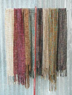 Hand Woven scarf by grace lovelace