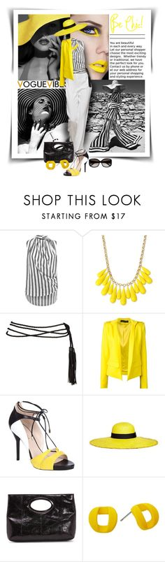 """""""Be Chic!"""" by diva1023 ❤ liked on Polyvore featuring Miss Selfridge, INC International Concepts, Alexandre Vauthier, ESCADA, Sensi Studio, Donald J Pliner, Marc by Marc Jacobs and Fendi"""