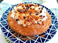 Microwave Protein Carrot Cake