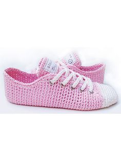 Crochet Patterns - Sneaker Classics Crochet Pattern