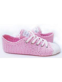 Crochet Patterns - Sneaker Classics Crochet Pattern                                                                                                                                                     More                                                                                                                                                                                 More