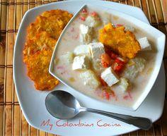 Mote de Queso or Yam Soup  Colombia, food, colombian food, comida colombiana, recetas, recipes