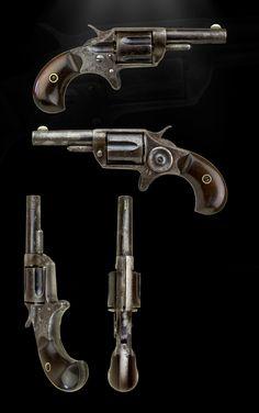 .30RIM-FIRE COLT NEWLINE POCKET REVOLVER   ROA Antique Arms
