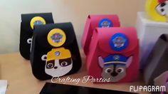 Cumple Paw Patrol, Ideas Para Fiestas, Lol Dolls, Goodie Bags, Craft Party, Crafts, Pencil Cases, Paw Patrol, Sachets