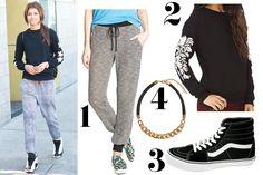 Zendaya Coleman Weekend Outfit Idea - How To Wear Sweatpants - Seventeen