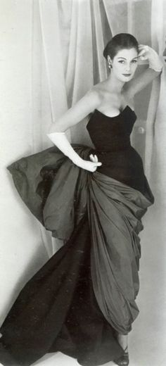 A ravishing, endlessly captivating 1950s gown by Coco Chanel.