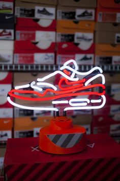The Nike Air Max 1 OG Red is Now a Neon Lamp - EU Kicks: Sneaker Magazine