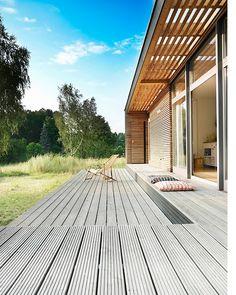 nice timber deck