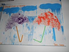 guarda chuva Moose Art, Seasons Of The Year, Winter Time, Rain Fall, Early Education, Activities, Log Projects, Easter Activities