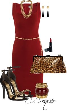 """""""Dress Up and Shine"""" by ccroquer on Polyvore"""