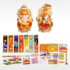 Buy #DiwaliFestiveBox  with Lakshmi Ganesh Idol, sparklers and crackers this #Diwali  and make the celebration more auspicious. Order now for special offers only @ #BringHomeFestival.