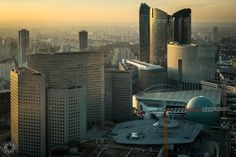 A Good Reason to Bring My Leica with Me at Work (Paris Nanterre from La Defense)