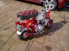 Classic Honda Motorcycles, Vintage Motorcycles, Cars And Motorcycles, Moto Bike, Bobber, Motocross, Monkey, Volkswagen, Vehicle