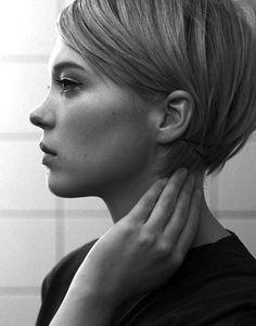14 Le Fashion Blog 20 Inspiring Short Hairstyles Lea Seydoux Mod Hair Via…