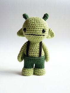 Cute alien stuffy.