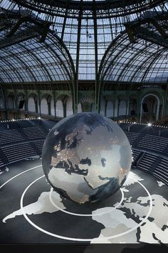 World of Chanel - Setting for Chanel's show at Paris Fashion Week March 2013