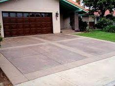 Image result for Driveway garage tile Tile Floor, Brick, Garage Doors, Sidewalk, Flooring, Outdoor Decor, Image, Design, Home Decor