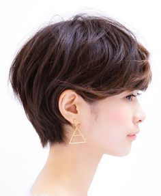 HAIR TREND 2015 冬|冨山 倫宏(ショート)|ホットペッパービューティー Great Hairstyles, Short Bob Hairstyles, Hairstyles Haircuts, Haircut For Thick Hair, Cut My Hair, Her Hair, Short Hair Cuts, Short Hair Styles, Current Hair Trends