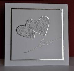 Wedding Day Cards Ideas Simple Ideas For 2019 Wedding Day Cards, Wedding Shower Cards, Wedding Cards Handmade, Wedding Anniversary Cards, Greeting Cards Handmade, Handmade Engagement Cards, Handmade Anniversary Cards, Anniversary Cards For Husband, Handmade Wedding Invitations