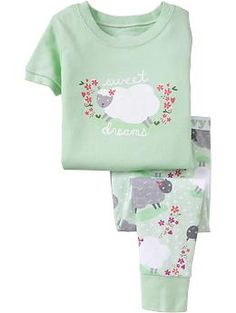 """""""Sweet Dreams"""" PJ Sets for Baby   Old Navy"""