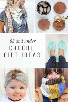 These modern crochet gift ideas can all be make for under $5, which means you can give gifts that are thoughtful, stylish AND easy on your wallet.