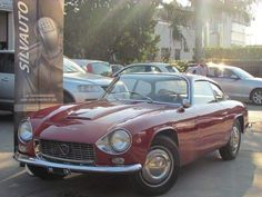 #Lancia Flaminia Supersport Zagato. Si impone presto come l'auto ammiraglia della Lancia.