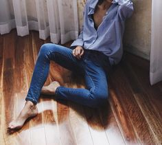 WEBSTA @ pepamack - Nothing more relaxed than mens shirt with skinny jeans. All…