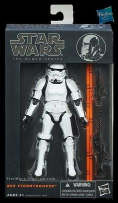 """Stormtrooper Star Wars The Black Series Action Figure 6"""" Inch A New Hope Hasbro…"""