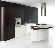 Kitchen Ideas Doors Dark and White
