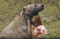 Baśniowe portrety z dzikimi zwierzętami - Baśniowe portrety z dzikimi zwierzętami. Uwaga, te zdjęcia nie są dziełem programu graficznego [GALERIA]