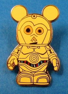 Disney Vinylmation Mystery Pin Collection - Star Wars - C-3PO Pin