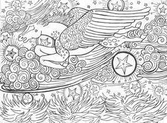 Fashion For Pegasus Coloring Pagespegasus Pages