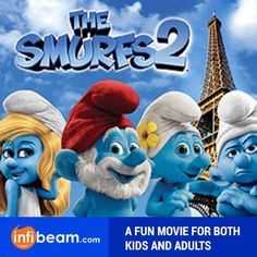 The Smurfs - A FUN MOVIE FOR BOTH KIDS AND ADULTS !  #TheSmurfs #Movie #Hollywood #FunMovie