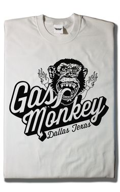Camiseta Gas Monkey Garage