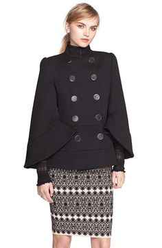 Alexander McQueen Alexander McQueen Double Breasted Wool Jacket available at #Nordstrom