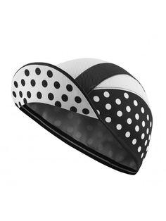 Chapeau!, Lightweight Cap, Black/White Polka Dot