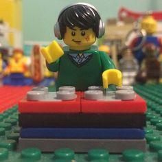 New DJ!!  #Lego #minifigures #awesome #Legos #DJ
