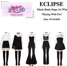 Funky Outfits, Other Outfits, Stage Outfits, Cute Casual Outfits, Kpop Fashion Outfits, Outfit Maker, Korea Fashion, Polyvore Outfits, Ideias Fashion