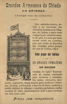 1913, Grandes Armazéns do Chiado, Coimbra.