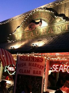 Spikes Fish Market & Restaurant-great chowder @ this fish market + small family restaurant in Point Pleasant Beach!
