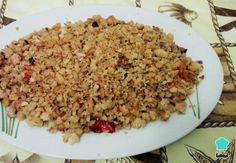 Homemade Extremadura Crumbs Recipe , The homemade Extremadura crumbs Jose Baéz shares is a magnificent recipe to take advantage of all that bread that is getting old at home. Chorizo, Types Of Sausage, Crumb Recipe, Le Chef, Spanish Food, Snacks, Dessert, Fried Rice, Free Food