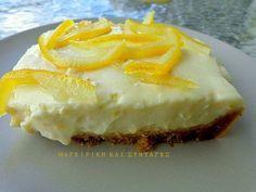 Τζίζ κέικ λεμόνι !! Εύκολο και πολύ ωραίο γλυκό ψυγείου !!! ~ ΜΑΓΕΙΡΙΚΗ ΚΑΙ ΣΥΝΤΑΓΕΣ