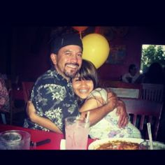 #tbt #throwbackthursday My dad and I. #chevys #fatherdaughter #braces #6yrsago #family