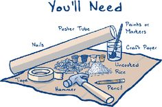 Just a few items you'll need.