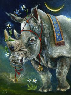 Janie Olsen | ACRYLIC | Rhino Prince