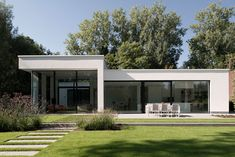 Modern Architecture House, Residential Architecture, Architecture Design, House Roof, Facade House, Small House Design, Modern House Design, Home Building Design, Modern Architects