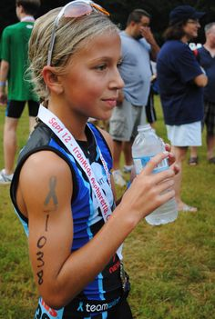 ambassador for Ironkids role model for kid triathletes! Juice Plus spokesperson. Unbelievable personality, does TRIs speaks in memory of her dad who died of cancer Kids Triathlon, Triathlon Training, Spartan Kids, Sports Nutrition, Food Nutrition, Peach Margarita, Female Pictures, Juice Plus, Bike Run