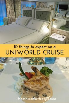 Read about 10 things to expect on a Uniworld Cruise
